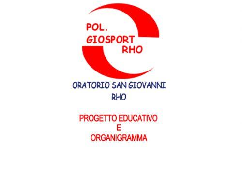 Progetto educativo e organigramma