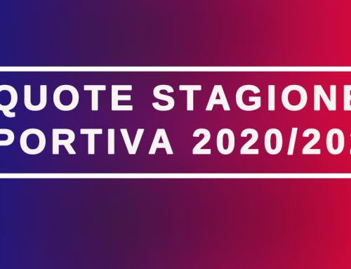 Quote stagione 2020-2021