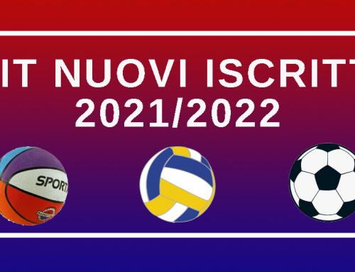 Kit nuovi tesserati 2021-2022